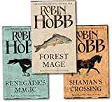 Robin Hobb Robin Hobb Soldier Son Trilogy Collection 3 Books Set (Renegade's Magic,Shaman's Crossing, Forest Mage)