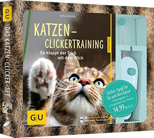 Katzen-Clickertraining-Set-So-klappt-der-Trick-mit-dem-Klick-Clicker-Spa-fr-Sie-und-Ihre-Katze-GU-Tier-Spezial