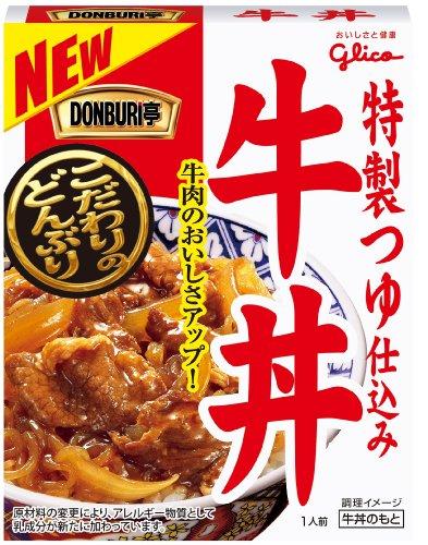 グリコ DONBURI亭 東京牛丼 180g×10個