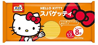 有趣健康,外形做成Hello Kitty和蝴蝶结小花造型的通心面