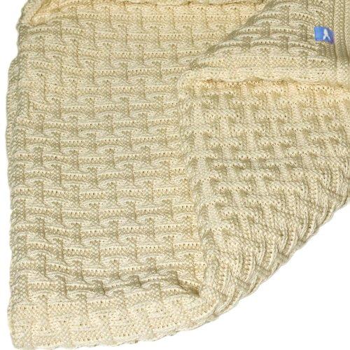 Wallaboo Baby Blanket Eden, Vanille