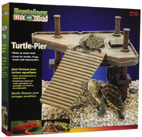 Reptology® Turtle Pier Floating Platform w/Ramp