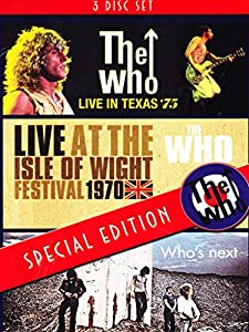 Live At The Isle Of Wight+Live In Texas+Who's Next [DVD] [2014] [NTSC]