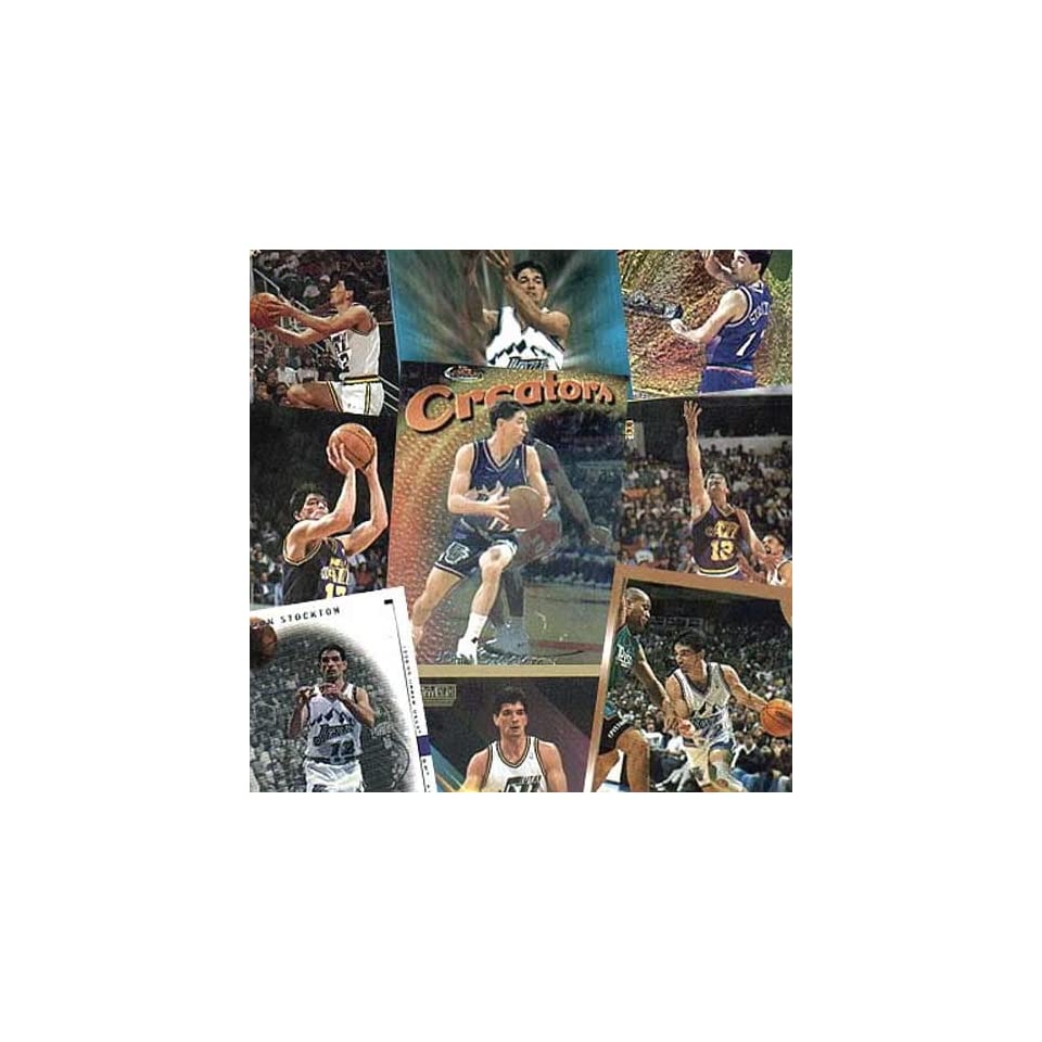 Utah Jazz John Stockton 20 Card Set on PopScreen 3c345841d