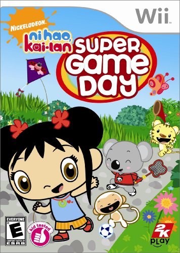 Ni Hao Kai Lan Super Game Day (Nintendo Wii) - 1