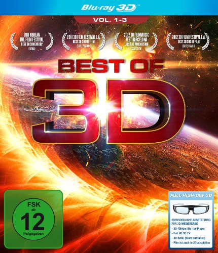 Best of 3D - Vol. 1-3 [Alemania] [Blu-ray]