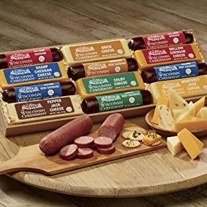Wisconsin Cheeseman 12-star Food Gift Lineup