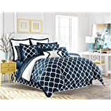 Jill Rosenwald Copley Collection Hampton Link Duvet Cover, Full/Queen