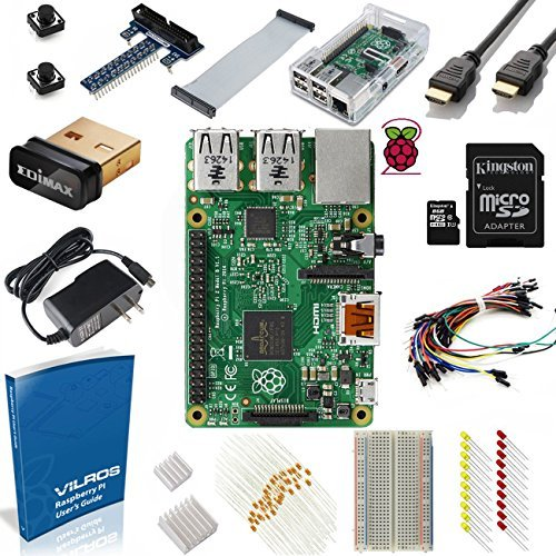 Vilros Raspberry Pi 2 Ultimate Starter Kit (17 Items)