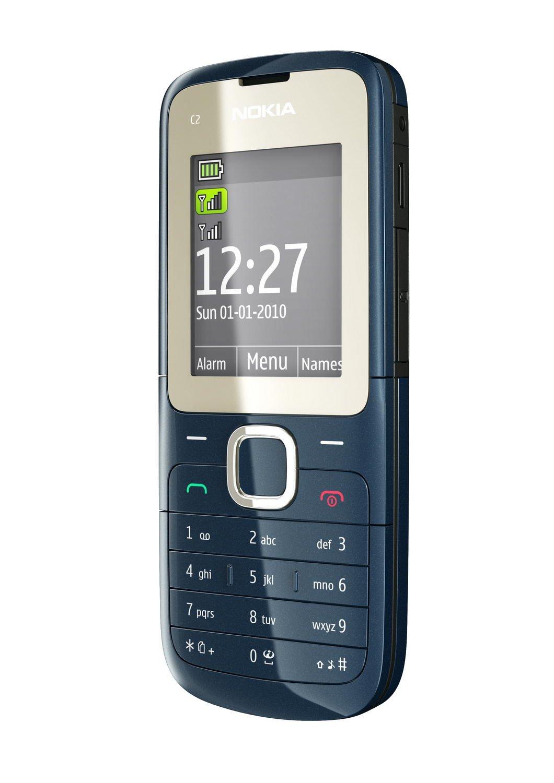 T�l�phone GSM NOKIA C201 BLEU