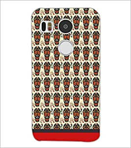 PrintDhaba Pattern D-1635 Back Case Cover for LG NEXUS 5X (Multi-Coloured)