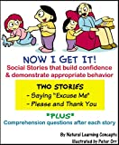 Social Story - Saying Excuse me and Please & thank you (Now I Get it! Social Stories)