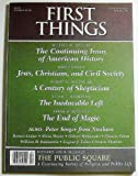 img - for First Things (Number 120, February 2002) book / textbook / text book