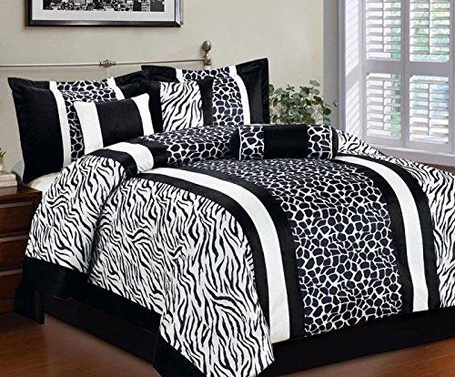 Giraffe Print Comforter Set front-1051171