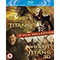 Clash of the Titans / Wrath of the Titans (Blu-ray 3D)  [2012] [Region Free]