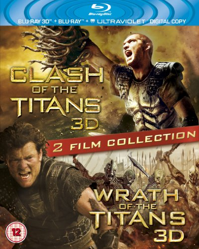 Clash of the Titans 3D / Wrath of the Titans 3D [Blu-ray + Blu-ray 3D + UV Copy] [Region Free]