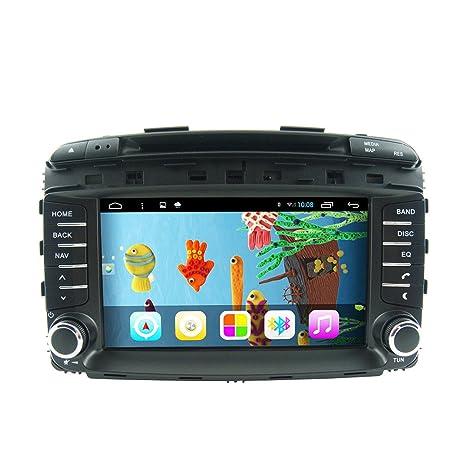 Rungrace Android 7-Pouce 2 Din TFT Ecran Lecteur DVD de Tableau de Bord en Automobile pour Kia Sorento avec Bluetooth,GPS,RDS,IPOD,CAN BUS,ISDB-T,RL-470AGIR