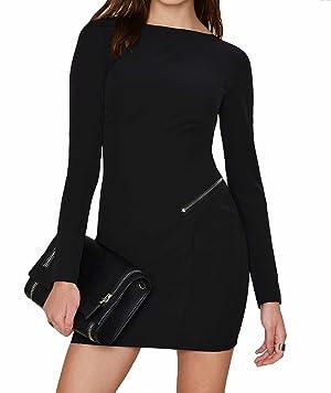 Stylestalker Havana Dress in Noir, s