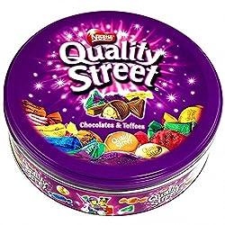 Nestle - Quality Street Chocolates & Toffees Tin Box - 240 Grams