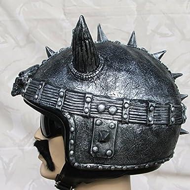 Couvre casque biker viking pour casque jet custom