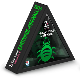 ZONEALARM PRO ANTIVIRUS and FIREWALL 2016 Checkpoint Internet Security Software | 3 PCs | 1 Year [Download]