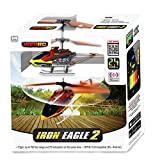 My Funky Planet My Web RC - Iron Eagle Helicopter, Red