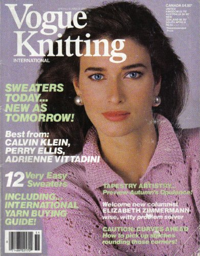 vogue-knitting-pattern-book-12-very-easy-sweaters-including-international-yarn-buying-guide-sweaters