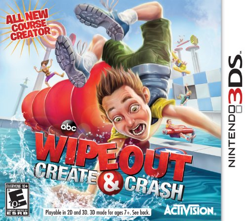 Wipeout: Create & Crash - Nintendo 3DS - 1