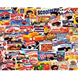 White Mountain Puzzles Tasty Treats - 1000 Piece Jigsaw Puzzle