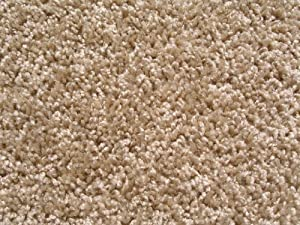 "2.5'x9' Beige Area Rug Runner. FRIEZE plush textured CARPET for residential or commercial use. Many sizes and shapes to choose from. Available for home AREA RUGS, runners, rectangle, square, oval and round. Approximately 1/2"" thick with binding."