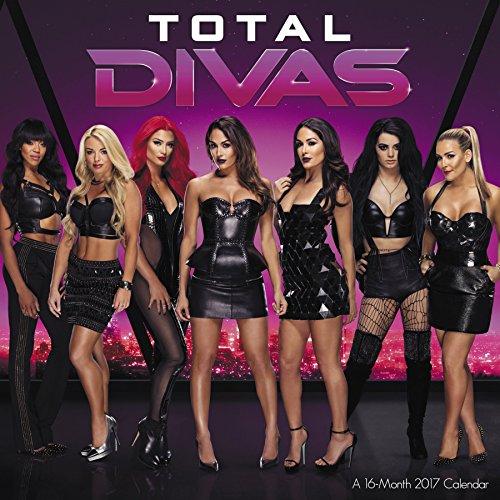 WWE Divas Wall Calendar (2017)