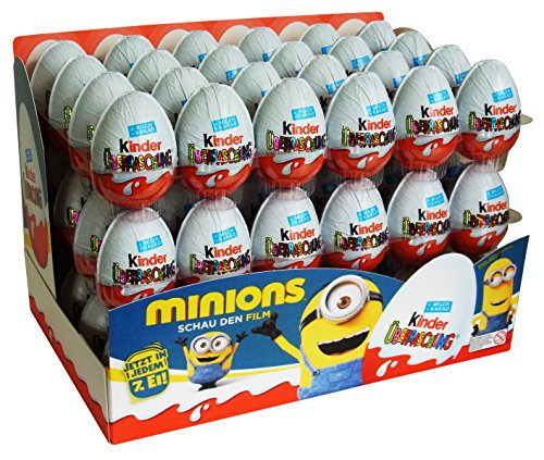 Kinder Surprise Special Edition Minions 20g (pack of 72)