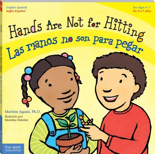 hands-are-not-for-hitting-las-manos-no-son-para-pegar-board-book-best-behavior-bilingual-series-engl