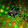 Candance Mini Laser Stage Lighting DJ Bar Club Pub disco Dancing Party Show Effect Light / Mini Mixed Red&Green Stage Lighting Projector Spotlight Music Active DJ Equipment for Disco Lights Club Party / Perfect Pattern!!! Mini Laser Stage Lighting DJ Bar