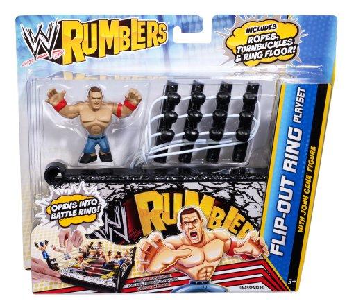 Imagen de Rumblers WWE flip-out Anillo set de juego con John Cena figura