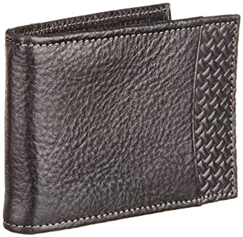 Tommy Bahama Men's Grayston Front Pocket Wallet, Black, One Size