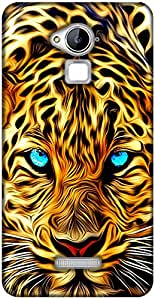 Inktree Back Cover for Coolpad Note 3 (Yellow)