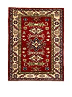 Navaei & Co. Alfombra Kazak Super Rojo/Multicolor 140 x 103 cm