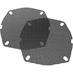 Hogtunes SGF GRILL-AA Replacement Front Speaker Grille (s for 1996-2013 Harley-Davidson FLH Touring Models)