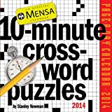 Mensa 10-Minute Crossword Puzzles 2014 Page-A-Day Calendar