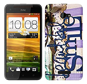 WOW Printed Designer Mobile Case Back Cover For HTC Butterfly X920D