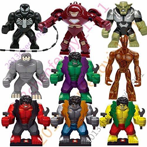 hot-9-sets-lot-big-minifigures-avengers-super-toys