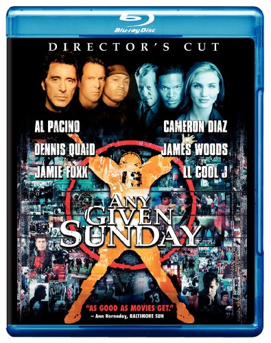 Cover art for  Any Given Sunday (Director's Cut) [Blu-ray]