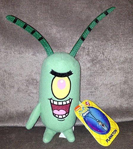 Just Play Toys : Spongebob squarepants plankton inch plush figure