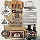 Beardsman's Bundle: Beard Care & Mustache Styling Kit (Cedar Atlas Shrugged)