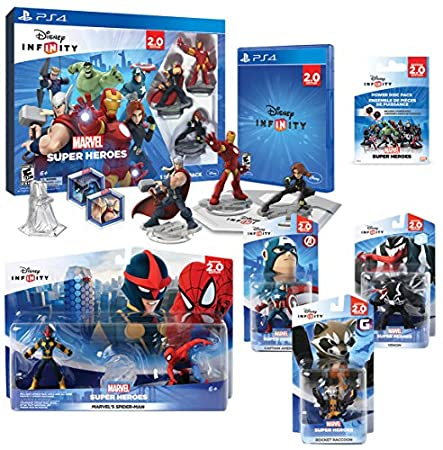 Infinity 2.0 Marvel Premium Value Pack (PlayStation 4)