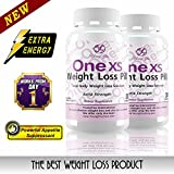 Product  - Product title One XS Weight Loss Pills Extra Strength Appetite Suppressant and Fat Burner. No Prescription Needed. 60ct - 2 month supply