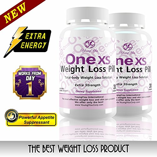 One XS Weight Loss Pills Extra Strength Appetite Suppressant and Fat Burner. No Prescription Needed. 60ct – 2 month supply