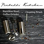 Portable Handheld Coffee Grinder - Ceramic Burr and Professional Grade Stainless Steel. Perfect Manual Coffee Grinder for French Press, Aeropress, Espresso, or As Spice and Herb Grinder