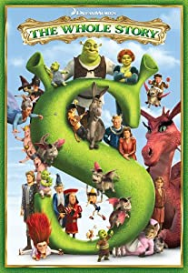 Shrek The Whole Story Boxed Set Shrek Shrek 2 Shrek The Third Shrek Forever After from DreamWorks